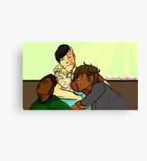 RvB GTA AU- Cuddly Boys  Canvas Print