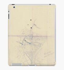 Civil War Maps 0207 Blue Springs Tennessee iPad Case/Skin