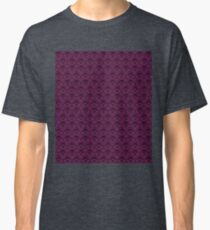 THEE Haunted Mansion Wallpaper - Deep Purple Classic T-Shirt