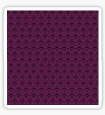 THEE Haunted Mansion Wallpaper - Deep Purple Sticker