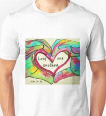 LOVE One Another John 13: 34 Unisex T-Shirt