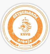 World Cup Football - Team Netherlands (distressed) Sticker