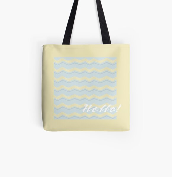 Hello! All Over Print Tote Bag