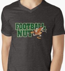 Football Nut Men's V-Neck T-Shirt