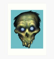 ZED HEADZ - Simon Art Print