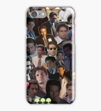 David Duchovny/Fox Mulder Collage iPhone Case/Skin