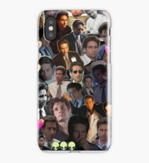 David Duchovny/Fox Mulder Collage iPhone Case
