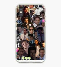 Vinilo o funda para iPhone David Duchovny / Fox Mulder Collage
