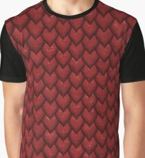 RED REPTILE SKIN Graphic T-Shirt