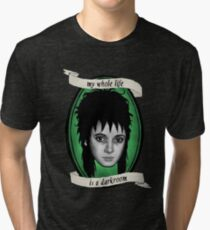Beetlejuice - Lydia: My Whole Life is a Darkroom Tri-blend T-Shirt