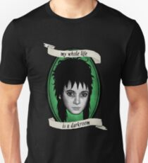 Beetlejuice - Lydia: My Whole Life is a Darkroom T-Shirt