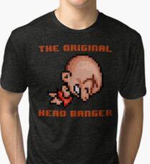 Bonk's Adventure original head banger Tri-blend T-Shirt