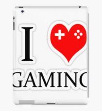 I heart gaming (graphic tees, mugs, and more!) iPad Case/Skin
