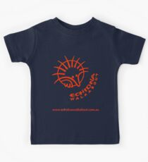 Echidna Walkabout logo Orange Kids Tee
