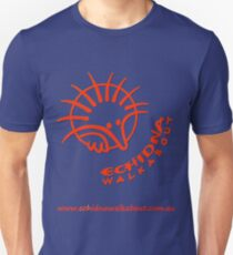 Echidna Walkabout logo Orange Unisex T-Shirt