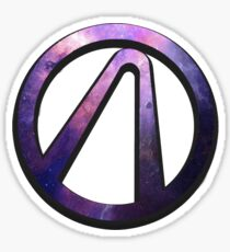 Borderlands 2 vault logo - galaxy Sticker