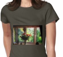 My Room-My View Womens Fitted T-Shirt