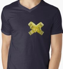 Ribbon Men's V-Neck T-Shirt