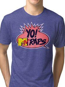 Yo! MTV Raps Tri-blend T-Shirt