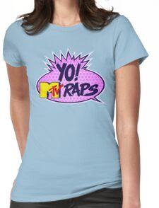 Yo MTV Raps Womens Fitted T-Shirt