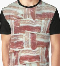 BACON LATTICE Graphic T-Shirt