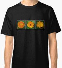 Orange Marigold Triptych Classic T-Shirt