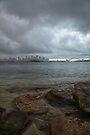 Stormy Harbour by yolanda