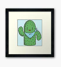 Mr J.G Cactus  Framed Print