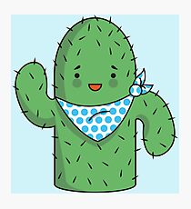 Mr J.G Cactus  Photographic Print