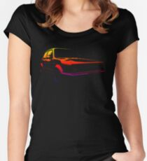 golf gti colored Women's Fitted Scoop T-Shirt
