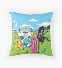 Adventureband Throw Pillow