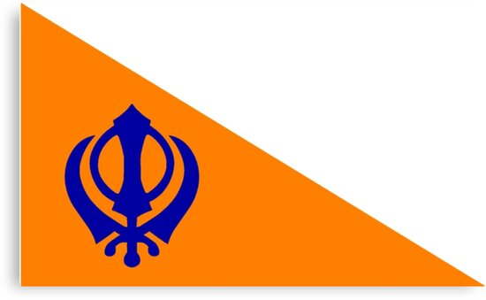 The Nishan Sahib, Sikh Flag. by sweetsixty