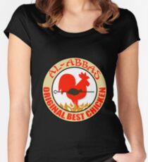 Al-Abbas: Original Best Chicken Fitted Scoop T-Shirt