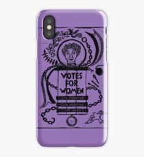 Votes for Women iPhone Case/Skin