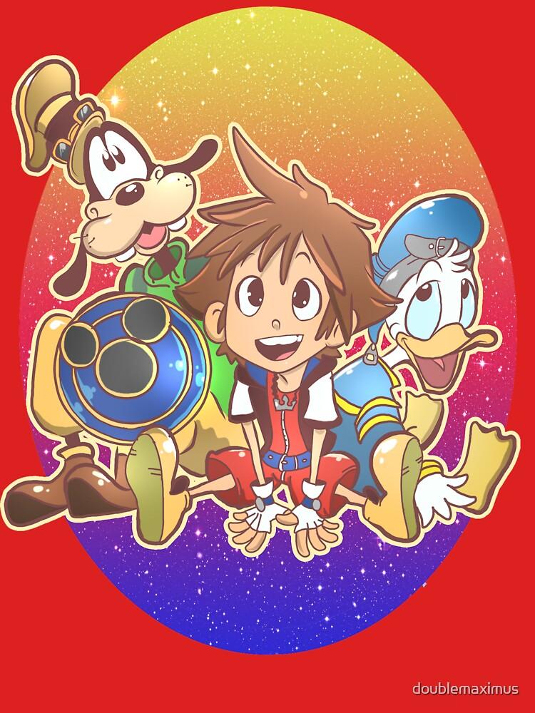 Kingdom Hearts Friends by doublemaximus
