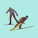 Nordic Combined by Louise Norman