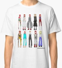 The stages of Bowie Classic T-Shirt