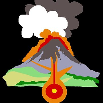 Volcano by louweasely