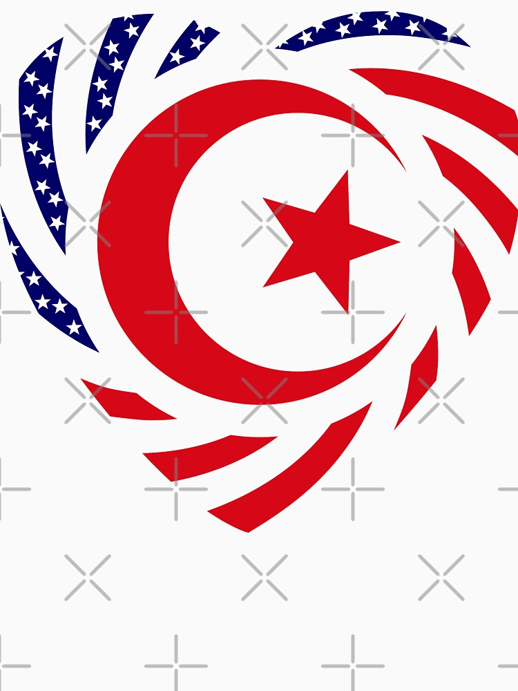 Muslim American Multinational Patriot Flag Series 2.0 by carbonfibreme