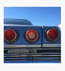 That's Right, Tail Lights Photographic Print