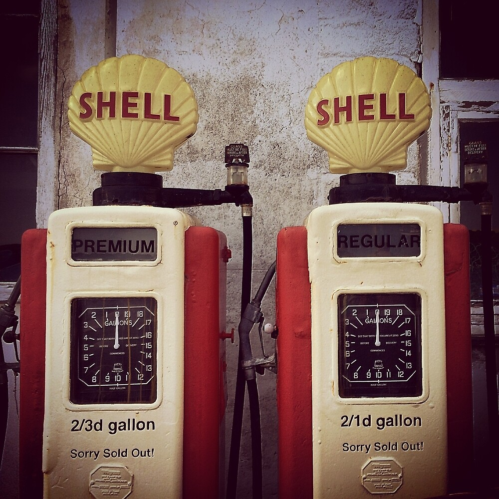 Petrol pump by franceslewis