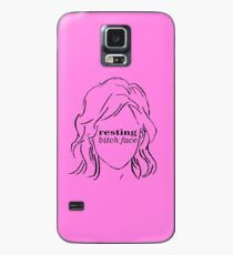 Resting Bitch Face (RBF) Case/Skin for Samsung Galaxy
