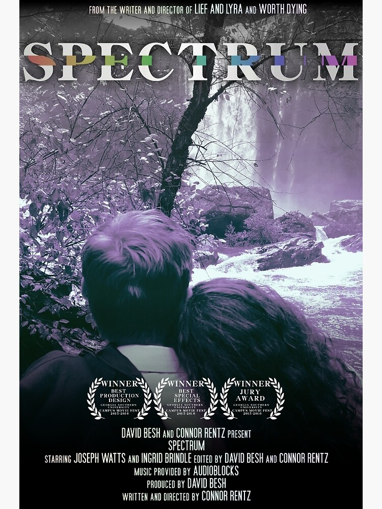 Spectrum Film One-Sheet Poster by ConnorRentz
