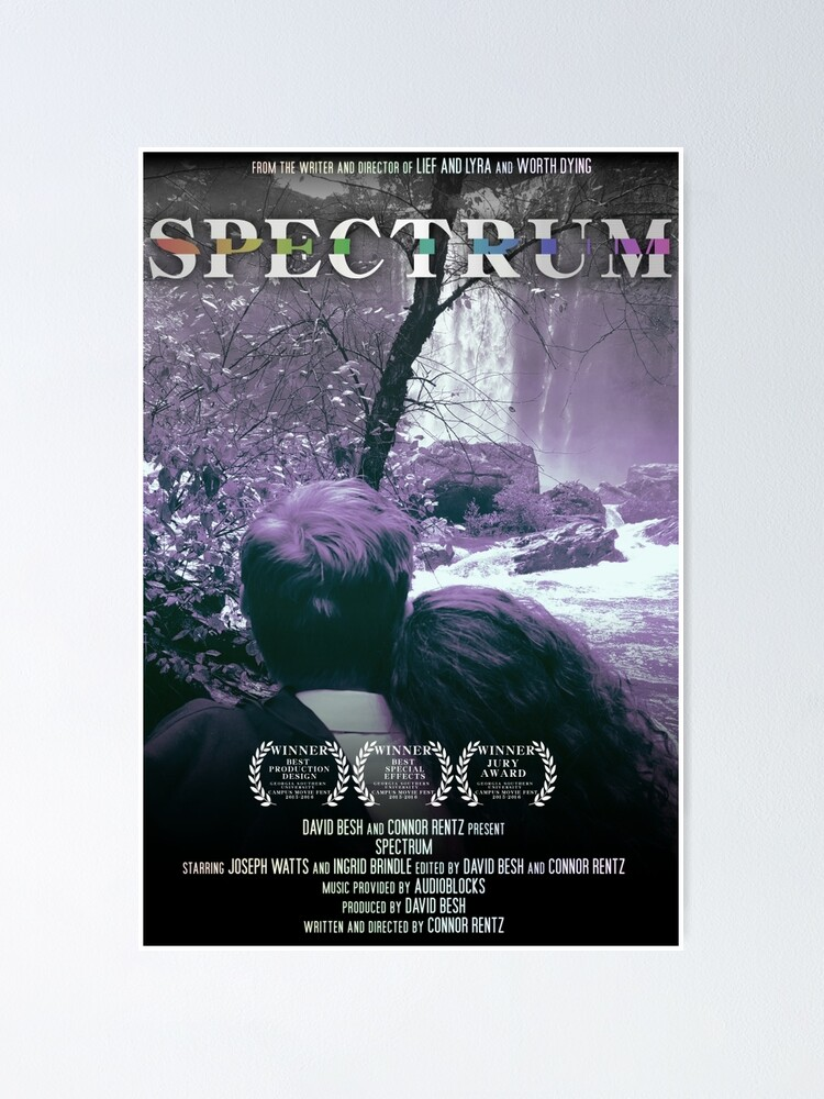 Alternate view of Spectrum Film One-Sheet Poster Poster