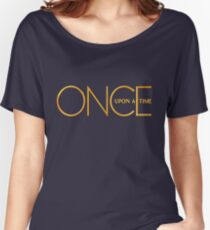 Once Upon A Time - logo Women's Relaxed Fit T-Shirt