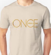 Once Upon A Time - logo Unisex T-Shirt