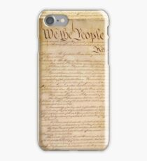 US CONSTITUTION iPhone Case/Skin