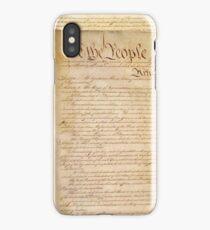 US CONSTITUTION iPhone Case/Skin