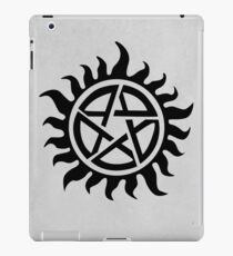 Supernatural Demon Possession Protection [BLACK] iPad Case/Skin