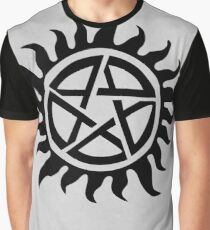 Supernatural Demon Possession Protection [BLACK] Graphic T-Shirt